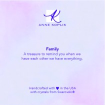 Family Jewelry Card
