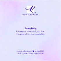 Friendship Jewelry Card