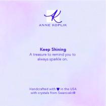 Keep Shining Jewelry Card